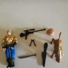 Figuras y Muñecos Gi Joe: FIGURA G.I. JOE / GI JOE GNAWGAHYDE (JABATO), V1, 1989. Lote 125144611