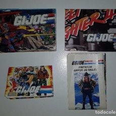 Figuras y Muñecos Gi Joe: GIJOE GI JOE - LOTE DE 4 CATÁLOGOS ANTIGUOS AÑOS 80 Y 90 (STREET FIGHTER TIGER FORCE CANADA STEEL). Lote 125269683