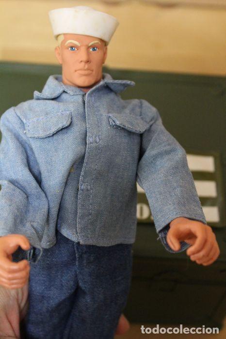 Figuras y Muñecos Gi Joe: Vintage GI Joe Marinero y Marine Más Accesorios - Foto 2 - 130223348