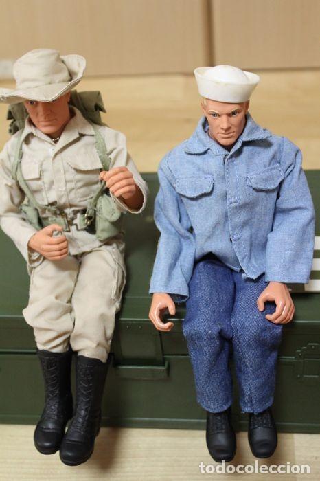 Figuras y Muñecos Gi Joe: Vintage GI Joe Marinero y Marine Más Accesorios - Foto 4 - 130223348