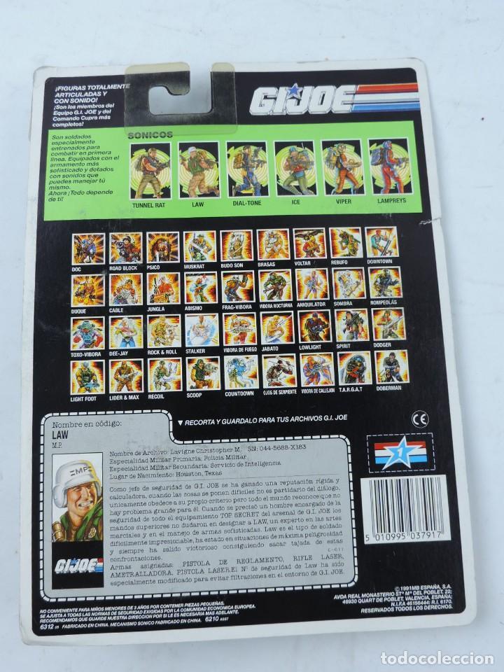 Figuras y Muñecos Gi Joe: MUÑECO GI JOE LAW, GIJOE DE HASBRO EN BLISTER NUEVO A ESTRENAR, DIFICIL DE ENCONTRAR. - Foto 2 - 146265757