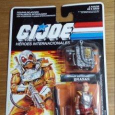 Figuras y Muñecos Gi Joe: GIJOE BRASAS CHARBROIL EN BLISTER SIN ABRIR - AÑO 1989. Lote 143426178