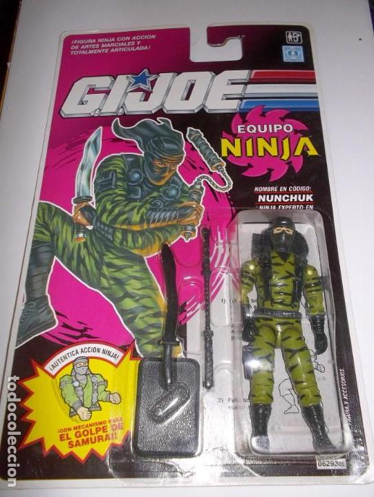 Gi joe nunchuk v1 1992 gijoe ninja force bliste - Sold through