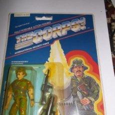 Figuras y Muñecos Gi Joe: THE CORPS! TONY TANNER V1 LANARD NO GI JOE GIJOE NUEVO EN BLISTER 1986. Lote 143838098