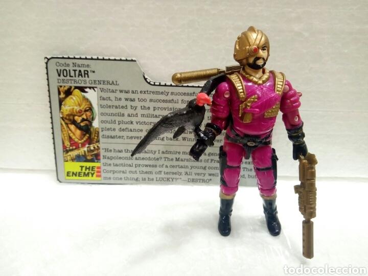 GI JOE VOLTAR V.1 DE 1988. DESTRO GENERAL. COMPLETA CON FILECARD EN INGLÉS. (Juguetes - Figuras de Acción - GI Joe)