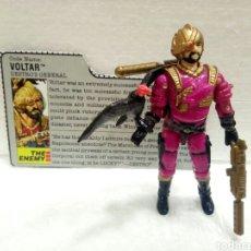 Figuras y Muñecos Gi Joe: GI JOE VOLTAR V.1 DE 1988. DESTRO GENERAL. COMPLETA CON FILECARD EN INGLÉS.. Lote 145670209