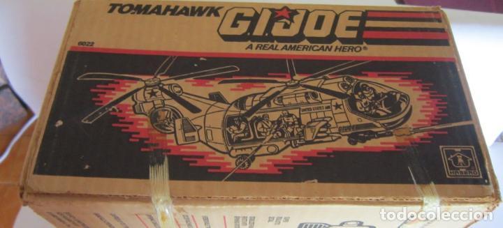Figuras y Muñecos Gi Joe: NAVE GI JOE, GIJOE, TOMAHAWK, AMERICANA, AÑO 1986, EN CAJA. CC - Foto 2 - 147422006
