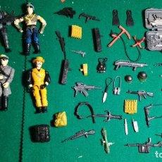 Figuras y Muñecos Gi Joe: LOTE FIGURAS TIPO GI JOE Y ARMAS VER FOTOS. Lote 147949166