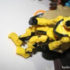 Figuras y Muñecos Gi Joe: MUÑECA FIGURA ROBOT AMARILLO Y NEGRO. Lote 177190695