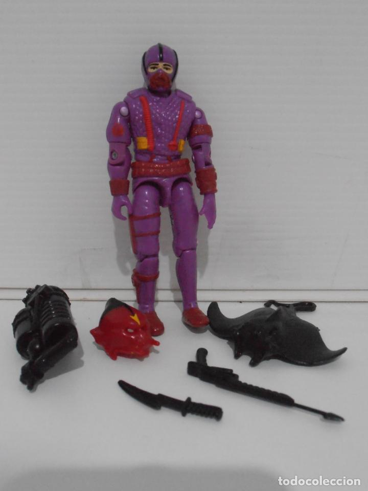 Figuras y Muñecos Gi Joe: FIGURA GIJOE, HIDRO VIPER 80% COMPLETA, SERIE 7, 1988 GI JOE - Foto 3 - 152142166