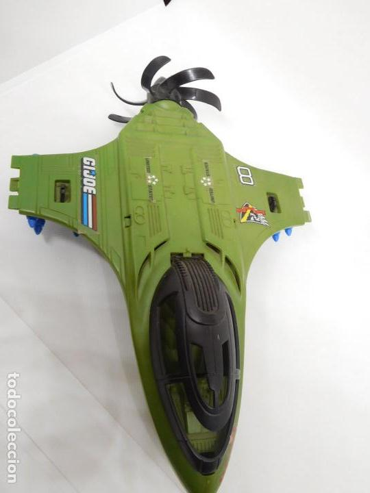 Figuras y Muñecos Gi Joe: Nave avión Mudslinger. Gi Joe. Años 80. Hasbro. - Foto 3 - 152584070