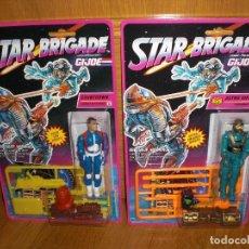 Figuras y Muñecos Gi Joe: LOTE DE 2 GI JOE STAR BRIGADE 1993: ASTRO VIPER Y COUNTDOWN, BLISTERS USA NUEVOS A ESTRENAR - GIJOE. Lote 155931954
