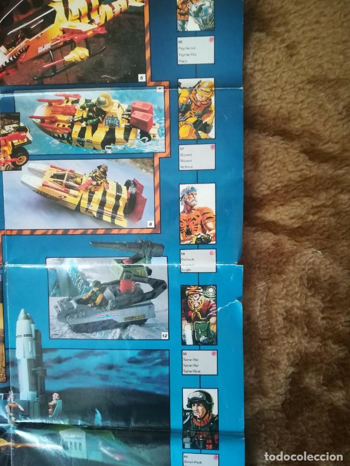 Figuras y Muñecos Gi Joe: Catalogo General Gijoe Figuras Vehículos 1991 Exclusivo Europa Incluye Tiger Force GI JOE - Foto 3 - 157836898
