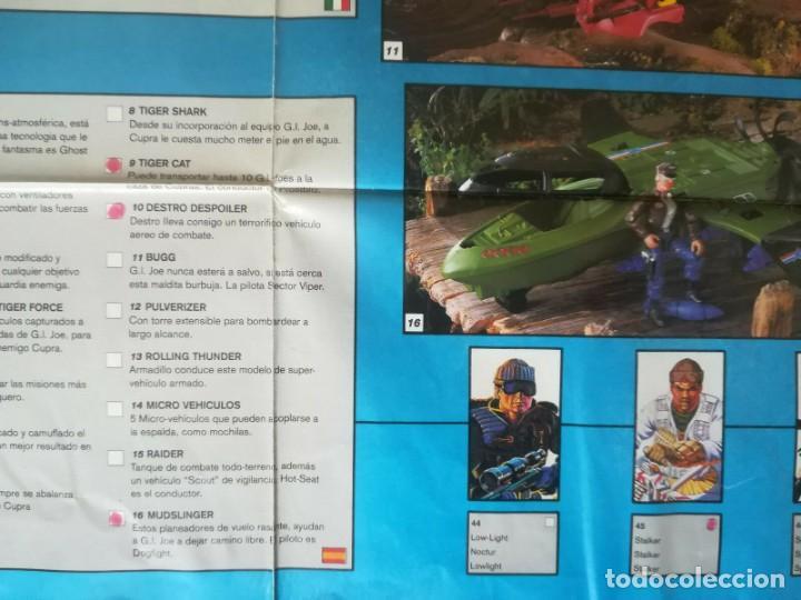 Figuras y Muñecos Gi Joe: Catalogo General Gijoe Figuras Vehículos 1991 Exclusivo Europa Incluye Tiger Force GI JOE - Foto 4 - 157836898