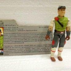 Figuras y Muñecos Gi Joe: GI JOE CROSS-COUNTRY V.1DE 1986. H.A.V.O.C. DRIVER. FILECARD FRANCÉS.. Lote 158698658
