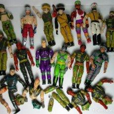 Figuras y Muñecos Gi Joe: LOTE FIGURAS LANARD, SIMILAR GI JOE,. Lote 159696406