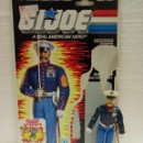 Figuras y Muñecos Gi Joe: GI JOE GUNG-HO V.2 DE 1987. MARINE DRESS BLUES. CON FILECARD USA.. Lote 160289874