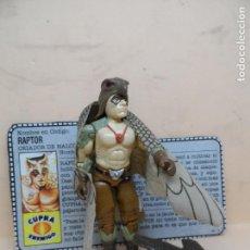 Figuras y Muñecos Gi Joe: GIJOE RAPTOR V1 1987 HASBRO COMPLETO. Lote 162293314