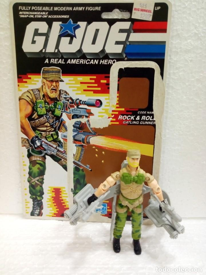 GI JOE ROCK & ROLL V.2 DE 1989. GATLING GUNNER (Juguetes - Figuras de Acción - GI Joe)