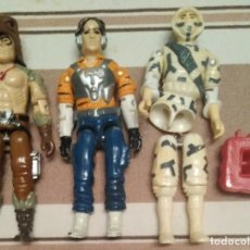 Figuras y Muñecos Gi Joe - Gijoe Gi joe Sombra, Raptor y PSICO TIGER FORCE - 163629246