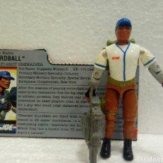 Figuras y Muñecos Gi Joe: GI JOE HARDBALL V.1 DE 1988 (BOLAS). COMPLETO CON FILECARD EN INGL. Lote 145870237