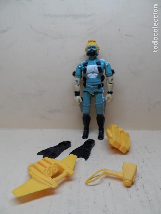 GIJOE WET SUIT V1 (SKUBA) 1986 HASBRO (Juguetes - Figuras de Acción - GI Joe)