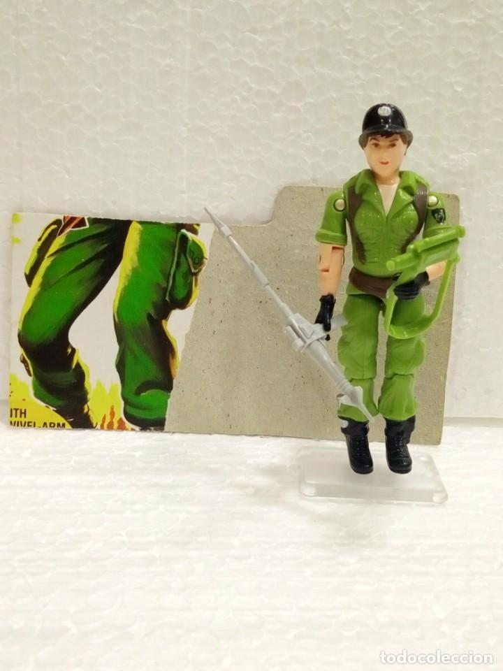 GI JOE LADY JAYE V.1 DE 1985. COVERT OPERATIONS. CON FILECARD USA. (Juguetes - Figuras de Acción - GI Joe)