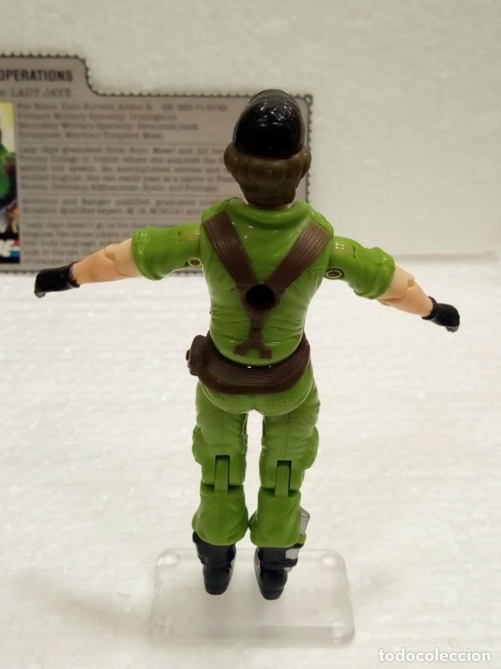 Figuras y Muñecos Gi Joe: Gi Joe LADY JAYE V.1 de 1985. COVERT OPERATIONS. Con Filecard USA. - Foto 5 - 166844226
