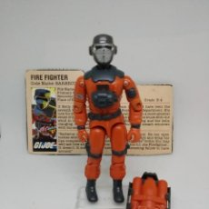 Figuras y Muñecos Gi Joe: GI JOE BARBECUE- BARBACOA (V1) 1985 HASBRO. WITH FILD CARD. Lote 171134893