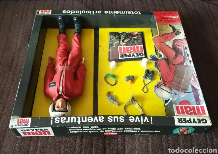 Figuras y Muñecos Gi Joe: Geyperman Básico Diablos Rojos - Foto 2 - 171346918
