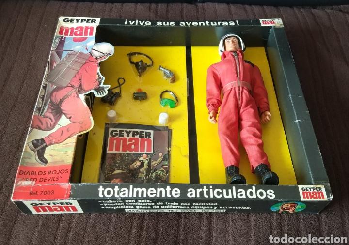 Figuras y Muñecos Gi Joe: Geyperman Básico Diablos Rojos - Foto 3 - 171346918