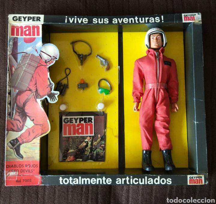 Figuras y Muñecos Gi Joe: Geyperman Básico Diablos Rojos - Foto 4 - 171346918