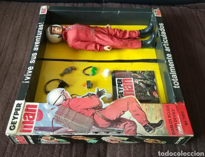 Figuras y Muñecos Gi Joe: Geyperman Básico Diablos Rojos - Foto 5 - 171346918