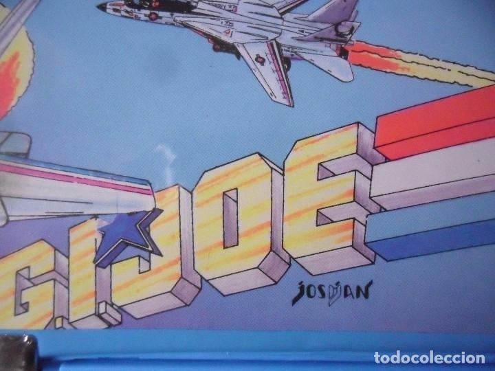 Figuras y Muñecos Gi Joe: RARO VINTAGE GI JOE GIJOE PENCIL BOX JOSMAN SPAIN - Foto 8 - 175974770