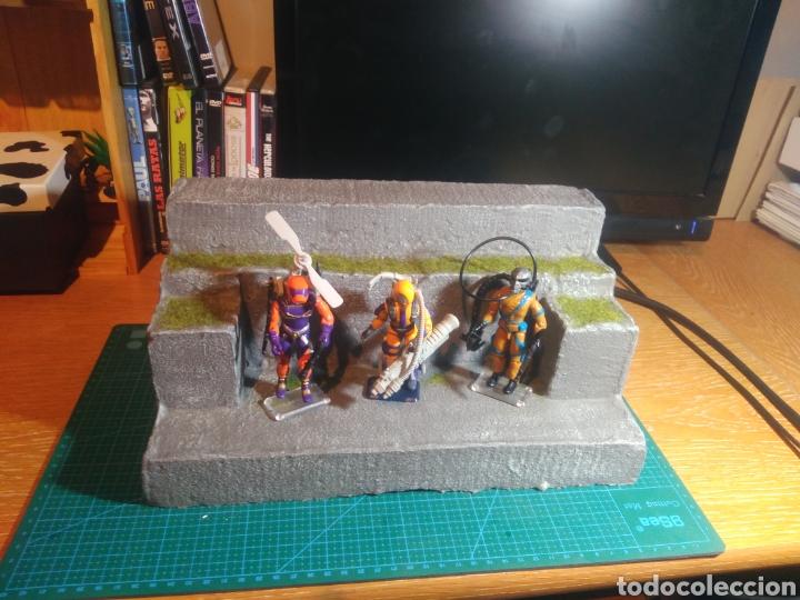Figuras y Muñecos Gi Joe: Expositor figuras de acción, maqueta, playset artesano - Foto 6 - 177745144