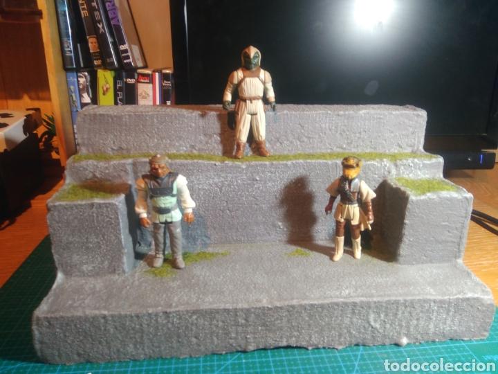 Figuras y Muñecos Gi Joe: Expositor figuras de acción, maqueta, playset artesano - Foto 7 - 177745144
