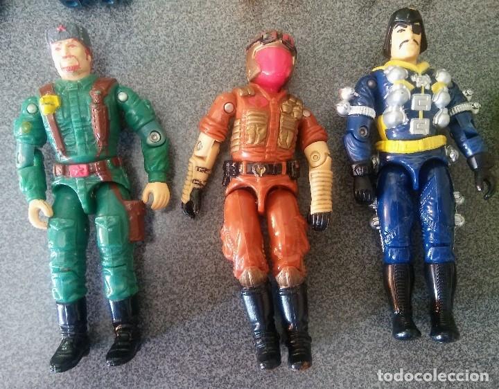 Figuras y Muñecos Gi Joe: Lote Gi joes - Foto 15 - 178288293