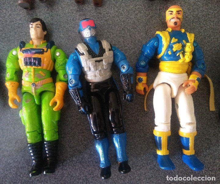 Figuras y Muñecos Gi Joe: Lote Gi joes - Foto 16 - 178288293