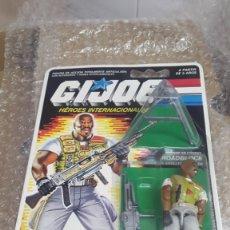 Figuras y Muñecos Gi Joe: ROADBLOCK EN BLISTER ESPAÑOL. GI JOE -HÉROES INTERNACIONALES- HASBRO, MB ESPAÑA 1988. Lote 178906053