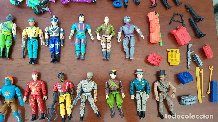 Figuras y Muñecos Gi Joe: Lote Figuras muñecos Lanard Corps Gi Joe - Foto 3 - 182019557