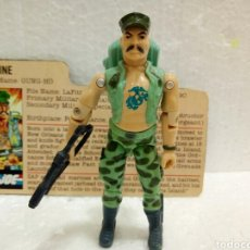 Figuras y Muñecos Gi Joe: GI JOE GUNG-HO V.1 DE 1983. MARINE. CON FILECARD EN INGLÉS USA.. Lote 182478807