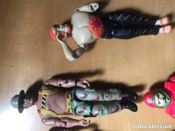 Figuras y Muñecos Gi Joe: LOTE ANTIGUAS FIGURAS THE CORPS GI JOE GIJOE LANARD 1986 - Foto 3 - 182794251