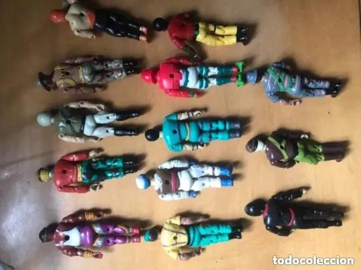 Figuras y Muñecos Gi Joe: LOTE ANTIGUAS FIGURAS THE CORPS GI JOE GIJOE LANARD 1986 - Foto 7 - 182794251