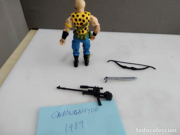 Figuras y Muñecos Gi Joe: ANTIGUO MUÑECO ARTICULADO GI JOE GNAWGAHYDE 1989 - Foto 4 - 182978880