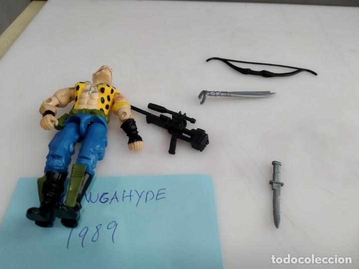 Figuras y Muñecos Gi Joe: ANTIGUO MUÑECO ARTICULADO GI JOE GNAWGAHYDE 1989 - Foto 5 - 182978880