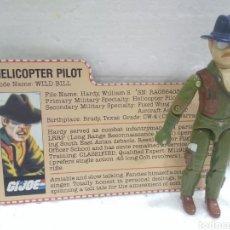 Figuras y Muñecos Gi Joe: GI JOE WILD BILL V.1 DE 1983 HELICOPTER PILOT.. Lote 184246917