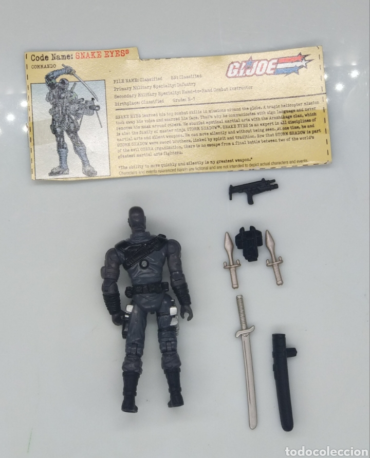 Figuras y Muñecos Gi Joe: Figuras Gi Joe Snake Eyes (v19) - Foto 2 - 185958348