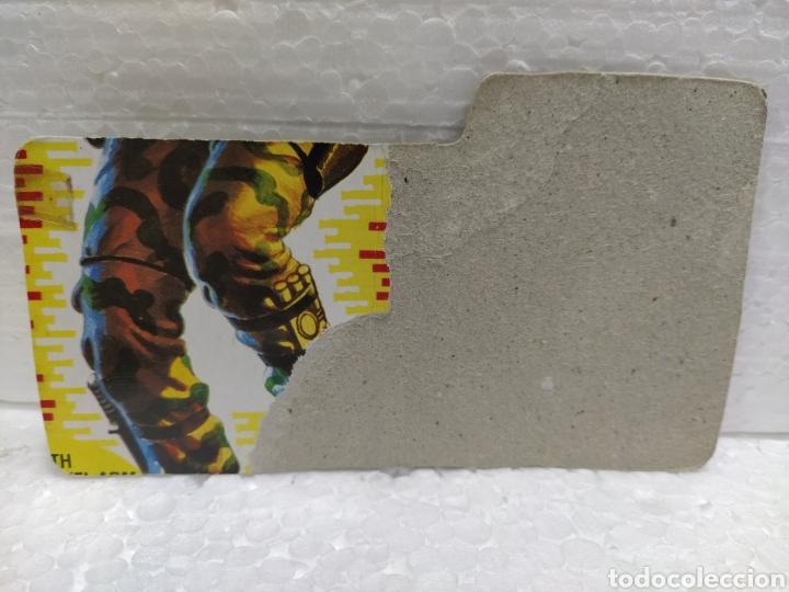 Figuras y Muñecos Gi Joe: Gi Joe FILECARD BEACH HEAD V.1 de 1986. RANGER en USA en inglés USA - Foto 2 - 190922572