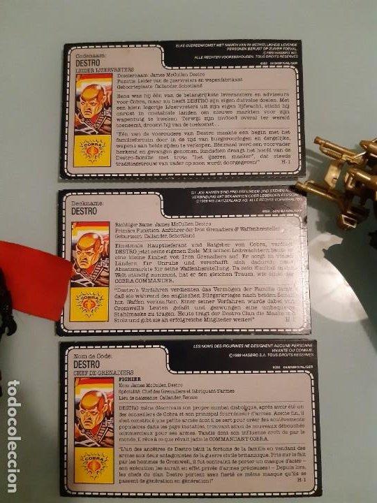 Figuras y Muñecos Gi Joe: ☆ ☆ DESTROS DESPOILER 1988 + FIGURA DESTRO V2 - GI JOE. COBRA BY HASBRO - Foto 8 - 193375955