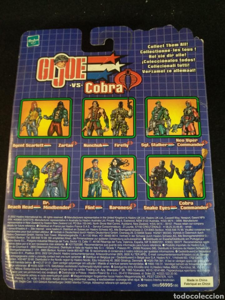 Figuras y Muñecos Gi Joe: Gi-joe VS Cobra, hasbro, Sgt.stalker vs Neo Viper comander. En blister - Foto 3 - 194077301